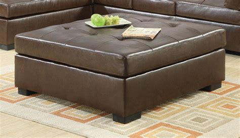 living room ottomans coaster darie brown oversized ottoman dallas tx living