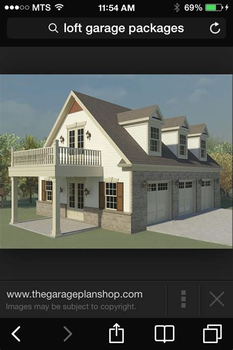 Garage Apartment Plans With Balcony by Same Idea As Our Above Garage Apt But The Balcony Would
