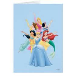 disney princesses 2 greeting card zazzle