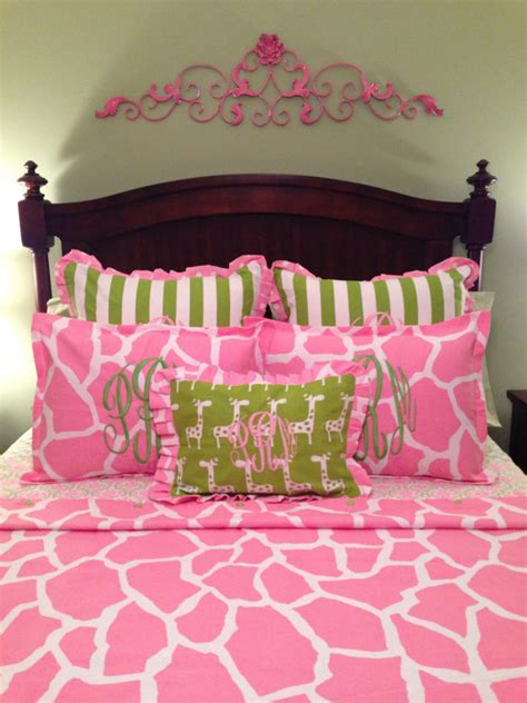 Giraffe Print Crib Bedding Sets Pink Giraffe Print Crib Toddler Duvet Bedding Comforter Cover