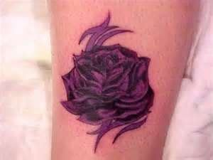 purple rose tattoo paola ks 1000 ideas about purple tattoos on