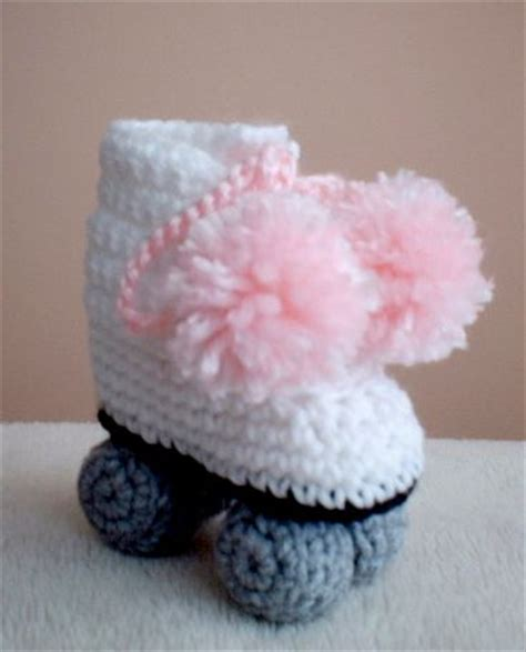 crochet pattern roller skate booties rollers crochet and diy and crafts on pinterest