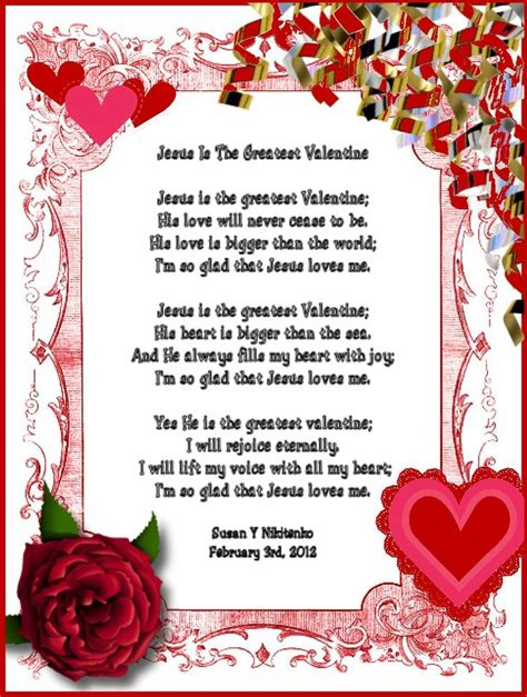 christian valentines day sayings 25 best ideas about valentines day poems on