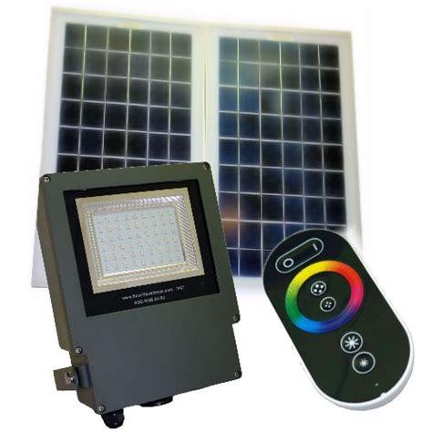 commercial solar flood lights commercial grade color changing solar flood light