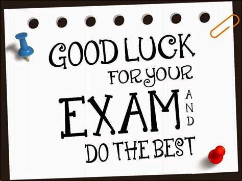 43 Best Good Luck Wishes For Exams Picture Final Exam Wishes