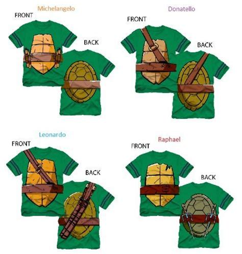 Mutant Turtles Tmnt A24 Kaos Family T Shir tmnt striped sleeves boys costume t shirt names the family and boy costumes