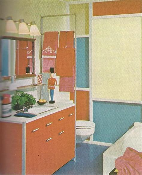 1960s Bathroom by 1960s Bathroom Decorating 1960 S Bed And Bath