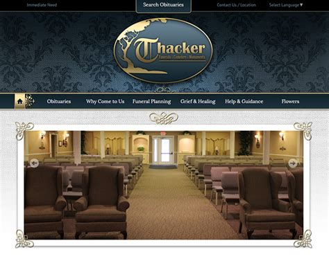 cool funeral home website design contemporary best