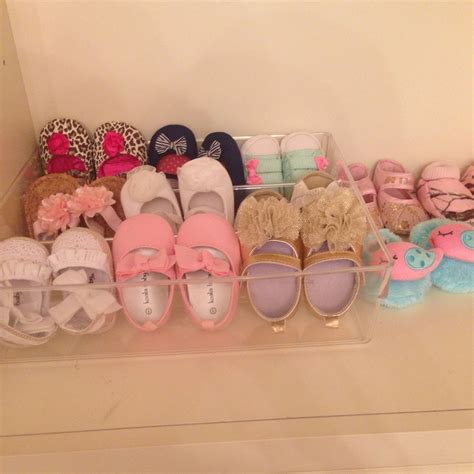 diy crib shoes diy baby shoe rack just use a plastic drawer organizer