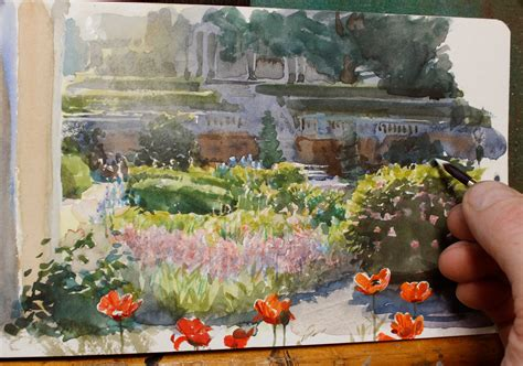 buy garden flowers aliexpresscom buy watercolor drawing canla garden