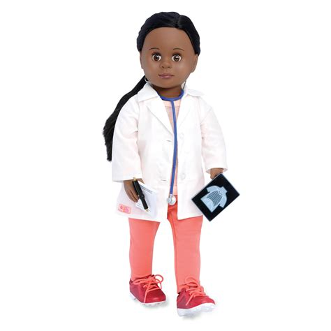 black doll doctor our generation doctor meagann black doll