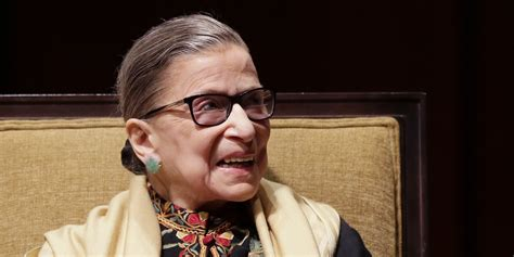 ruth bader ginsburg has response when asked about