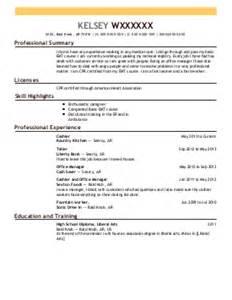 electrophysiology resume exle