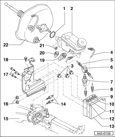 Esp Brake System Pdf Audi Workshop Manuals Gt A2 Gt Brake System Gt Abs Adr Tcs