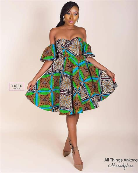 latest ankara short gown 40 latest new ankara short gown styles 2018 for bright
