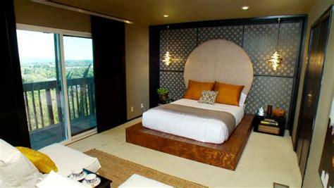 asian inspired master bedroom video hgtv