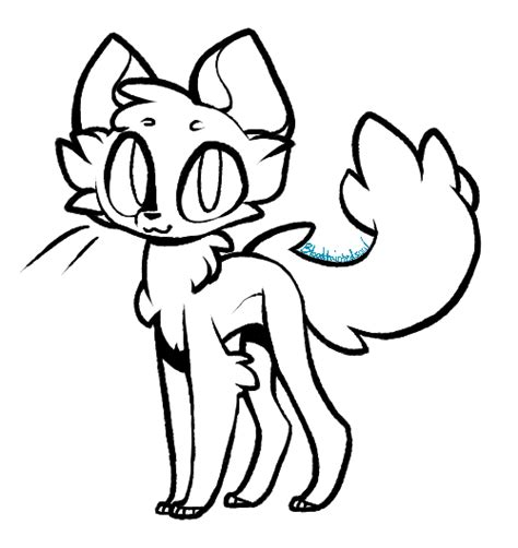 cat adoptables line art free cat lineart by taiinty on deviantart