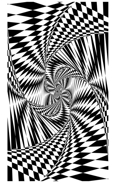 Psychedelic 1bis - Psychedelic Adult Coloring Pages