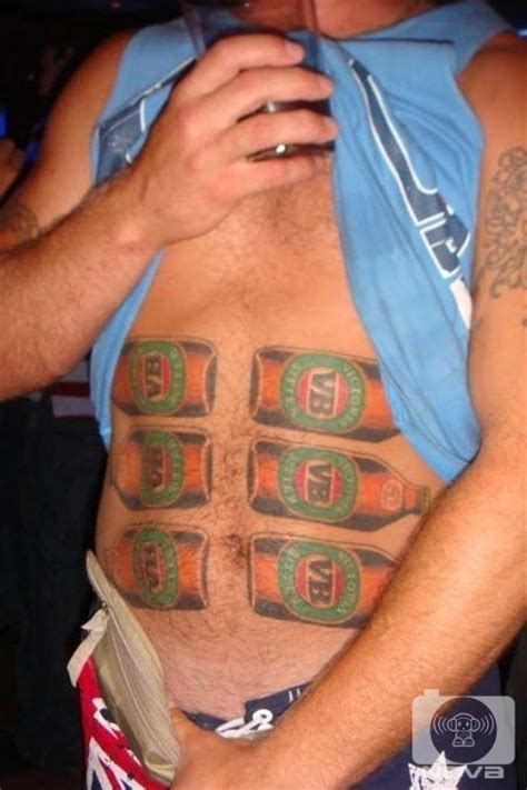 six pack tattoo 67 southern cross tattoos things bogans like