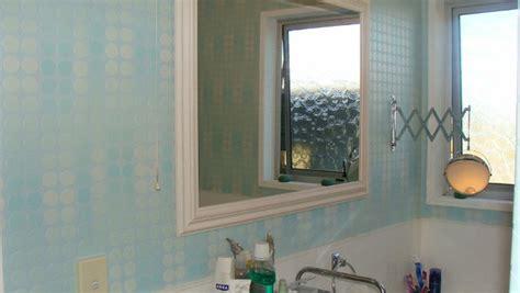 washable wallpaper bathroom wallpaper in a bathroom the inside s blog