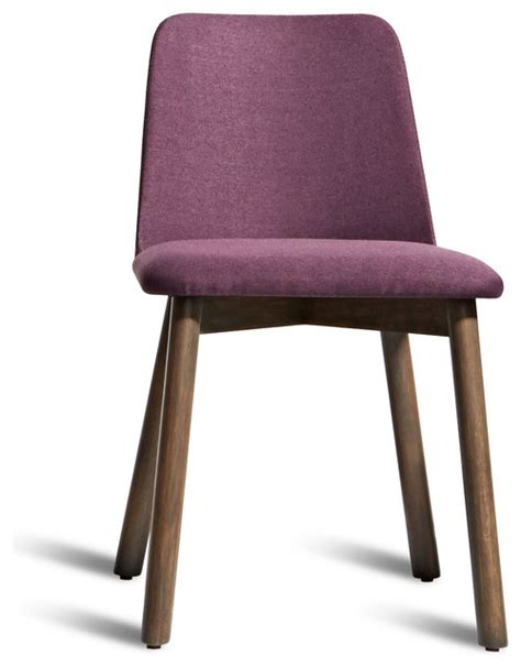 Modern Purple Dining Chairs by Dot Chip Dining Chair Smoke Purple Modern