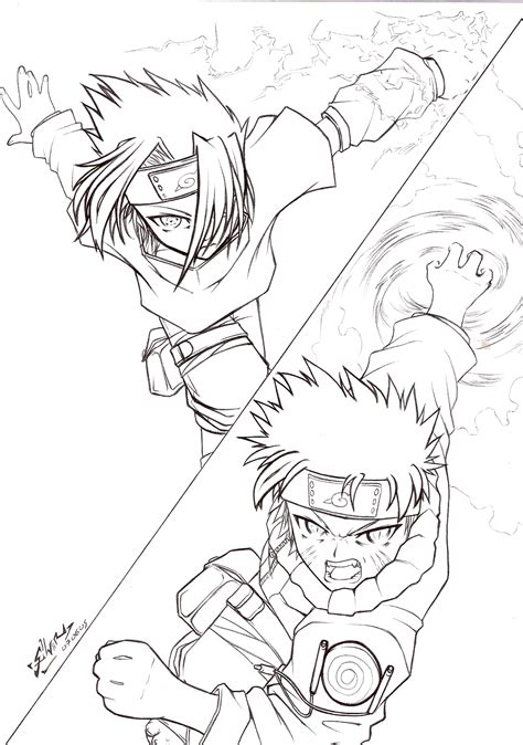 naruto rasengan coloring pages how to draw naruto rasengan vs sasuke chidori www imgkid