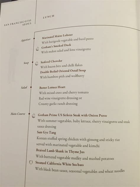 singapore airlines new year menu flight review singapore airlines class san