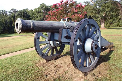 revolutionary war cannon at yorktown stewart flickr