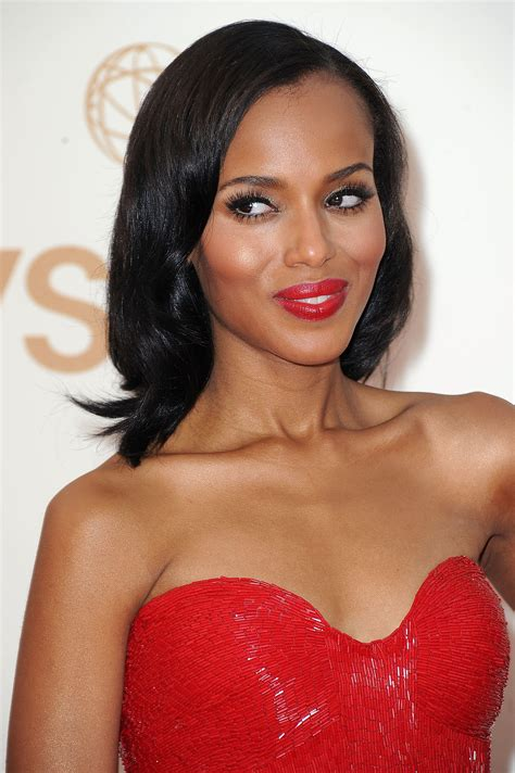 Gorgeous Makeup At The Emmys 2 by Kerry Washington 2011 The Most Gorgeous Hair And Makeup
