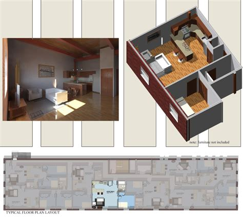 Floor Design Plans apartment 205 305 405