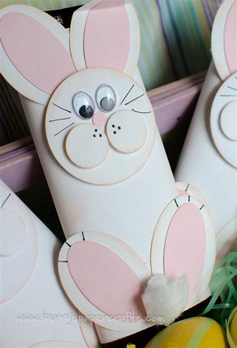 Toilet Paper Easter Bunny Craft - easter bunny craft with toilet paper roll toilet