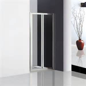 760x1850mm Double Pivot Shower Door Enclosure Inward Space Space Saving Shower Doors