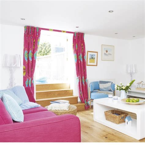 hot pink rooms hot pink living room housetohome co uk