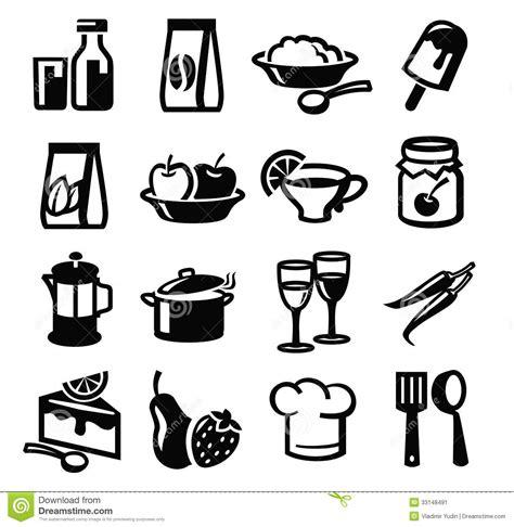 Kitchen Program Design Free food icons stock image image 33148491