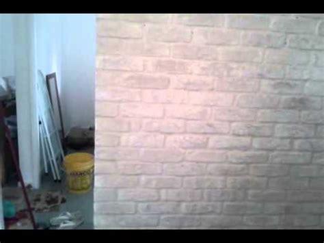 azulejo que imita tijolo assentamento de revestimento que imita tijolinho parte 2