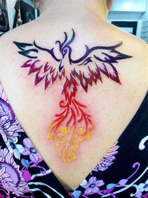 phoenix tattoo little unique phoenix tattoos designs for girls