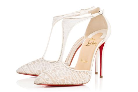 Designer Bridal Shoes by Standout Wedding Shoes From New York Bridal Fashion Week