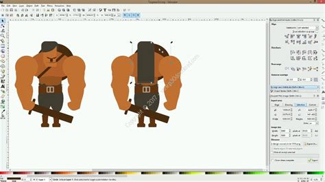 inkscape tutorial game character udemy design your ultimate 2d game characters with