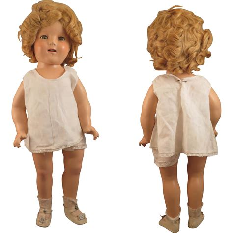 composition doll 1930s 1930s ideal composition shirley temple doll 18 inch from