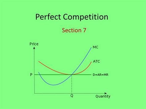section seven perfect competition section ppt download