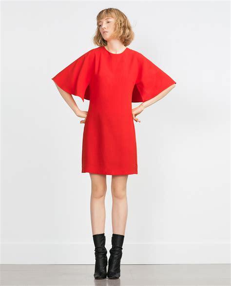 zara asymmetric dress in lyst