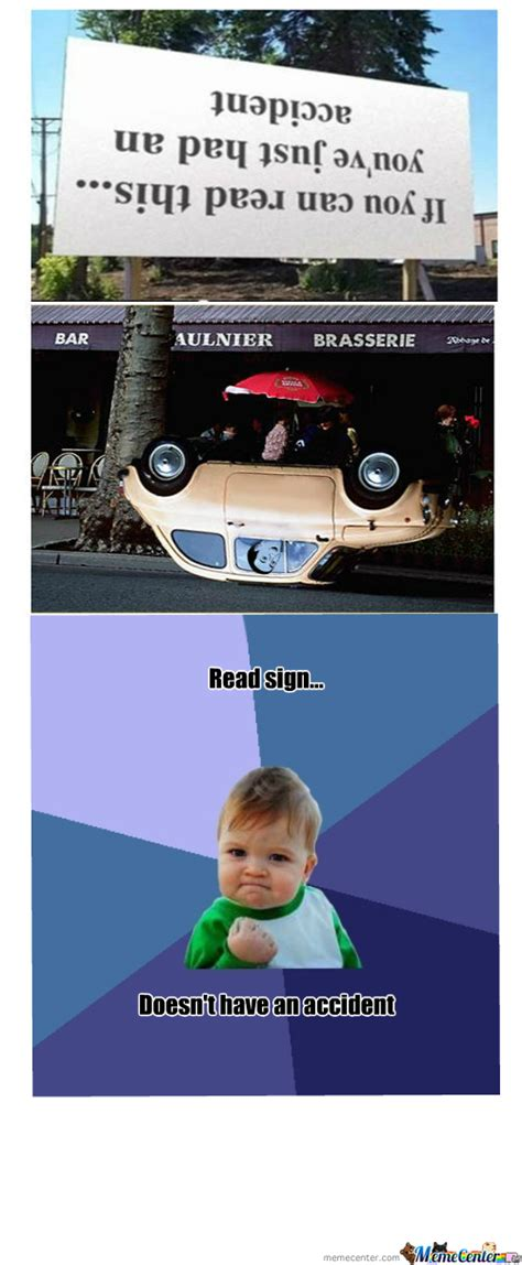 funny car crash meme www pixshark com images galleries