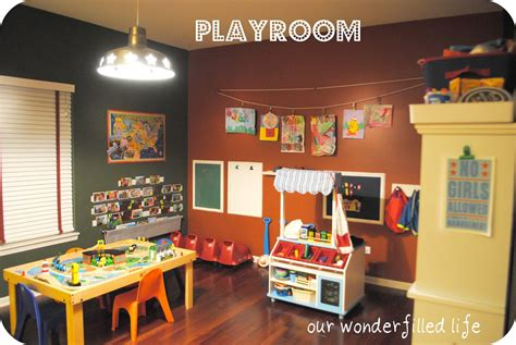 Our Wonderfilled Life Giveaway Playroom Design Help Play Room Ideas