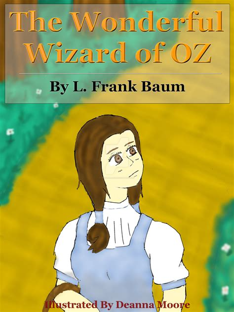 the wizard of oz picture book the wonderful wizard of oz book cover by tsunamijurai on