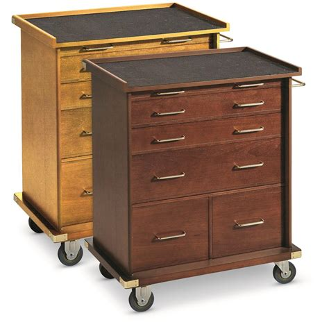 Rolling Storage Cabinet Castlecreek Rolling Storage Cabinet 667207 Coins Collectibles Displays At Sportsman S Guide