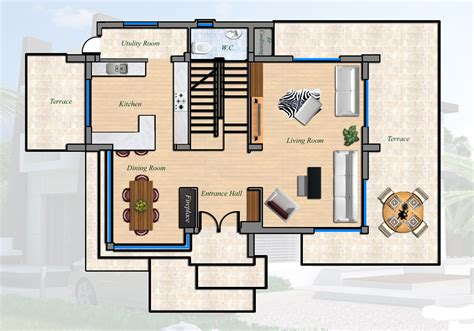 2 floor villa plan design east coast ultra modern villa 4 bed north cyprus property