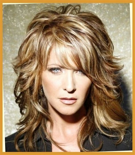 hair styles for thick hair on middle aged hairstyles for middle aged women with long hair hair