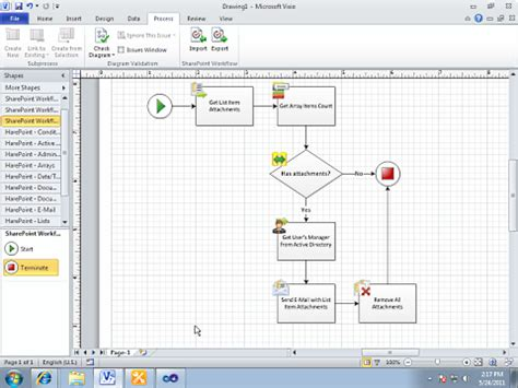 workflow sharepoint 2003 sharepoint workflows and visio