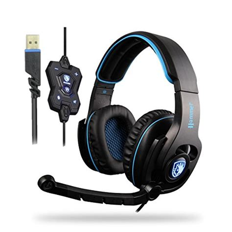 Headset Alto Bass High Quality Fantastis Bass sades 40mm fantastic speaker 7 1 surround sound headphones stereo usb wired iron mesh gaming