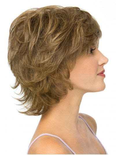short feathered shag feathered shag wig image short hairstyle 2013